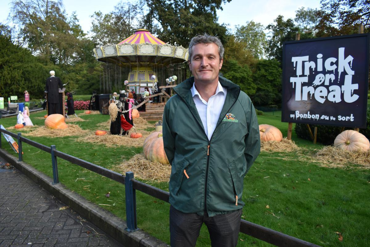 Directeur Stefaan Lemey stelde twee weken geleden nog trots het coronaproof halloweenconcept van Bellewaerde voor.