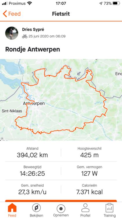 Rondje Antwerpen. (GF)