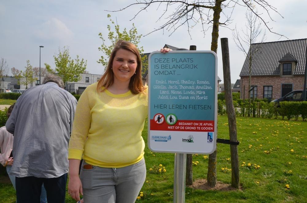 Ann-Sophie Lammertyn nam mee het initiatief voor de campagne op Bistierland.