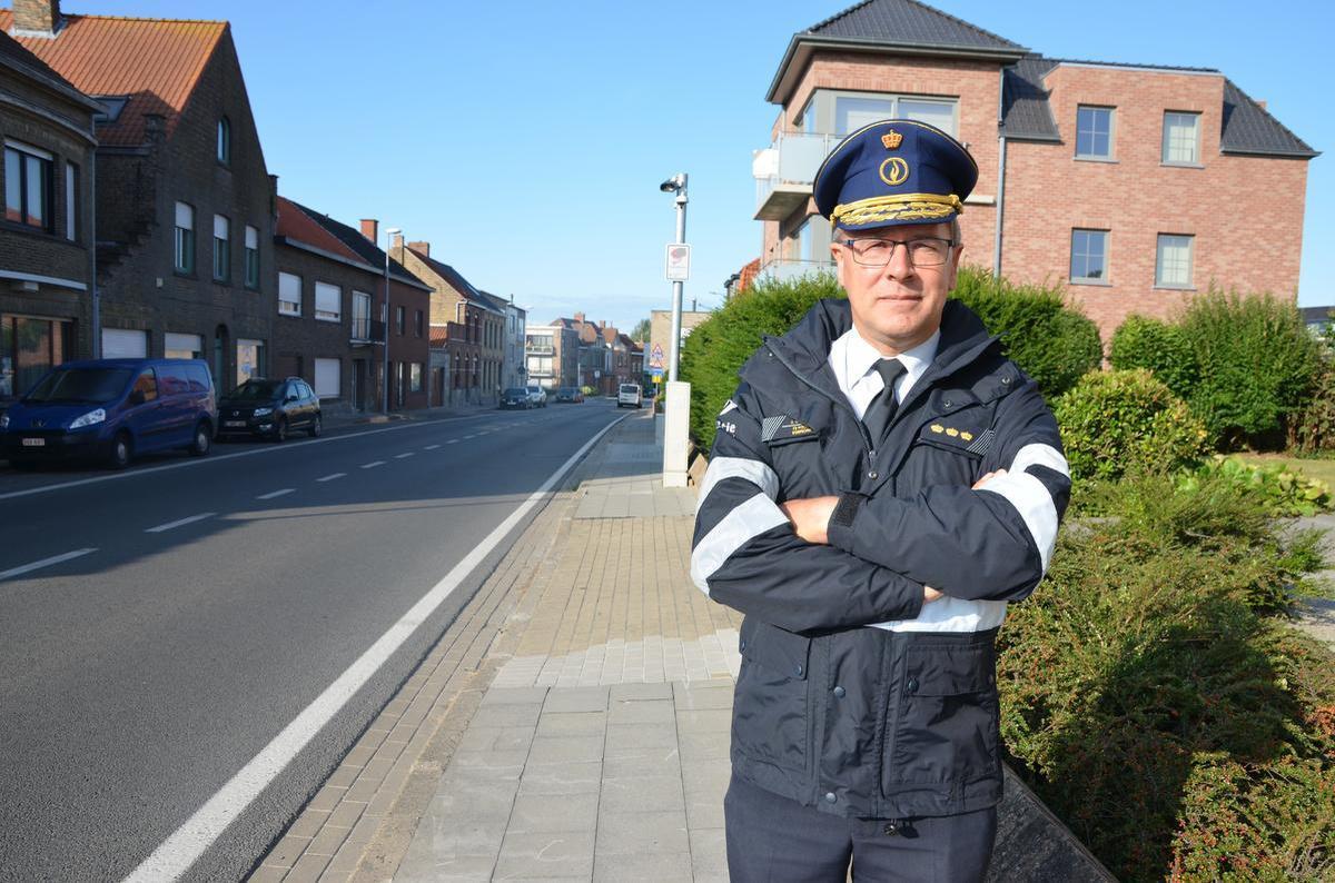 Korpschef Johan Geeraert had vorig jaar stevige kritiek op de inplanting van de trajectcontroles: