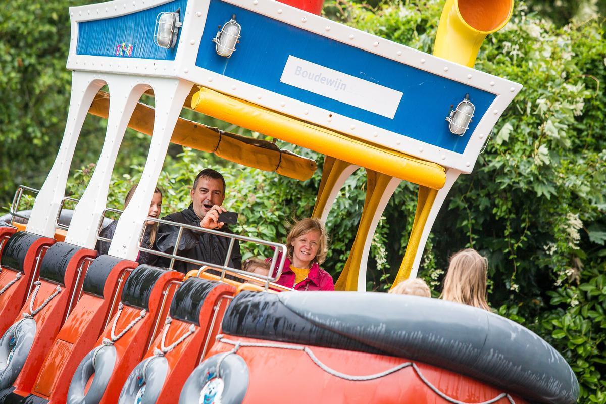 Het Boudewijnpark: coronaproof... voor een kalme dag