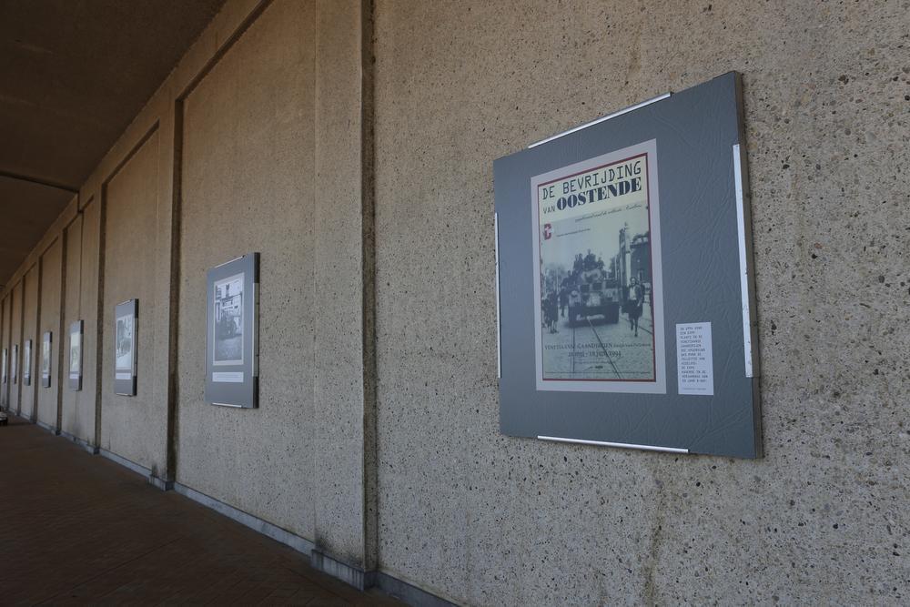 In de Nieuwe Gaanderijen zijn 27 beelden te zien over de bevrijding van Oostende 75 jaar geleden.