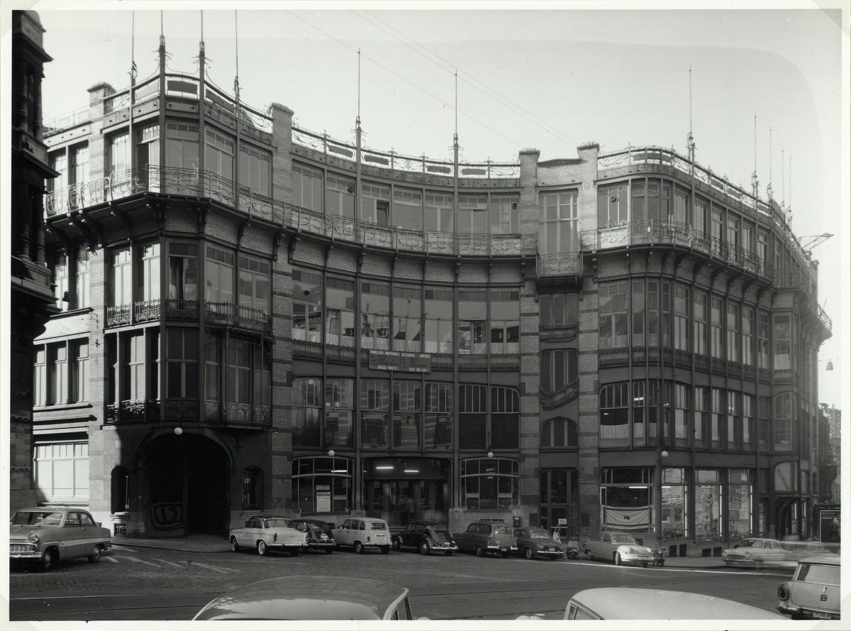 2. Het Volkshuis van Victor Horta in Brussel