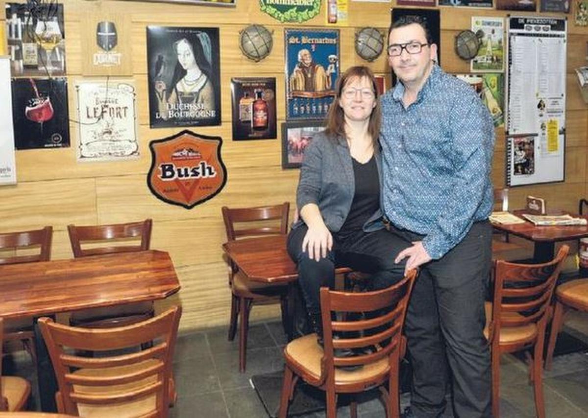 Nele De Laere en Bart Uyttenhove van Bockor Café Gravenhof in Ingelmunster.
