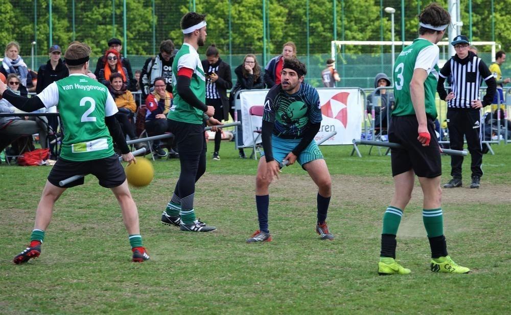 Antwerpse ploeg wordt vijfde op EK Zwerkbal in Harelbeke