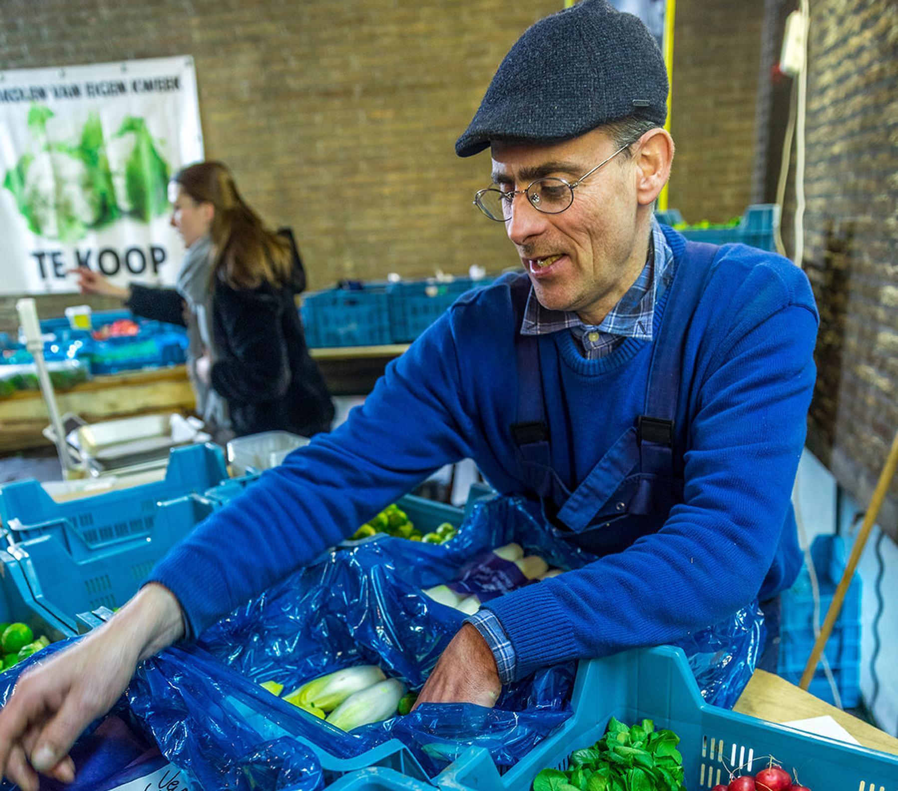 Lokaalmarkt, de wekelijkse indoor boerenmarkt, heropent deze week zijn deuren