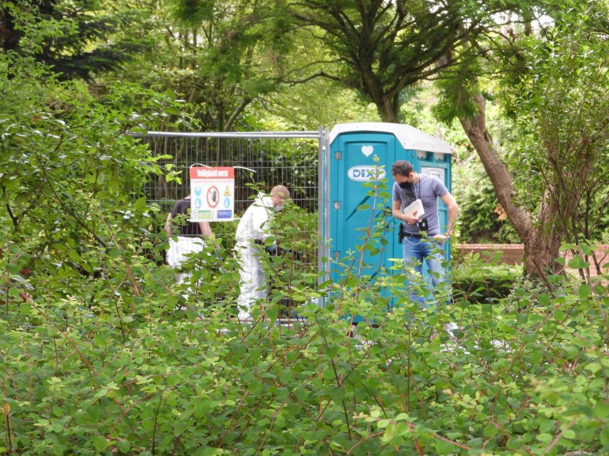 Het labo en de federale politie kwamen ter plekke in Sint-Andries.
