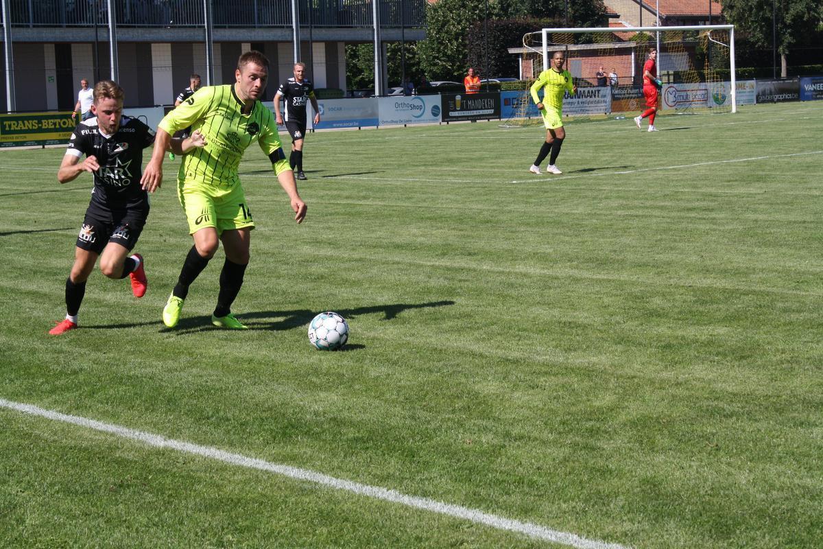 Zwevezele probeerde KV Oostende onder druk te zetten, maar betaalde foutjes cash.
