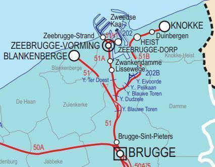 Infrabel investeert 11 miljoen in spoorwerken voor ontsluiting Zeebrugse haven