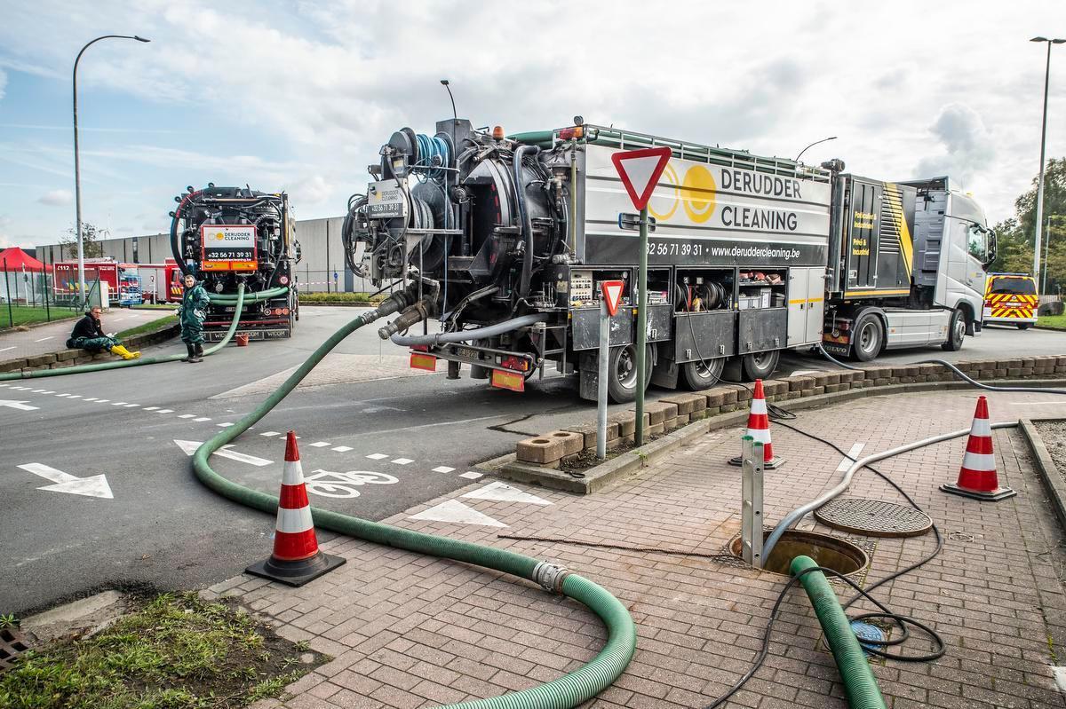 Industriebrand Roeselare: aanwezigheid kankerverwekkende stof in Mandel sterk gedaald