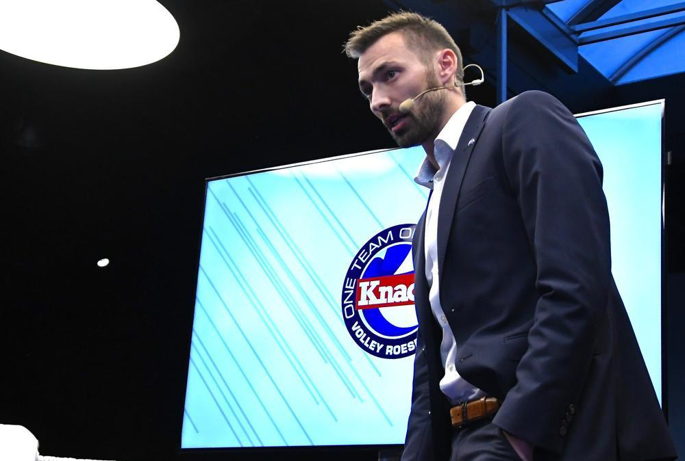 Ex-speler Stijn Dejonckheere is de nieuwe brand manager van Knack Volley.
