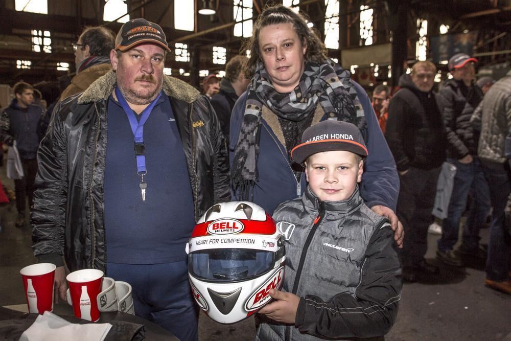 Fifi Merlier, Veerle Van Waes en Horion Van Waes. (Foto LLV)