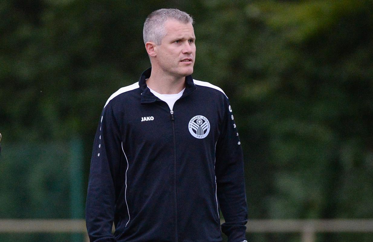 Geoffrey Barre krijgt zijn kans bij VVEK en wordt trainer van de eerste ploeg. (Foto Bart)