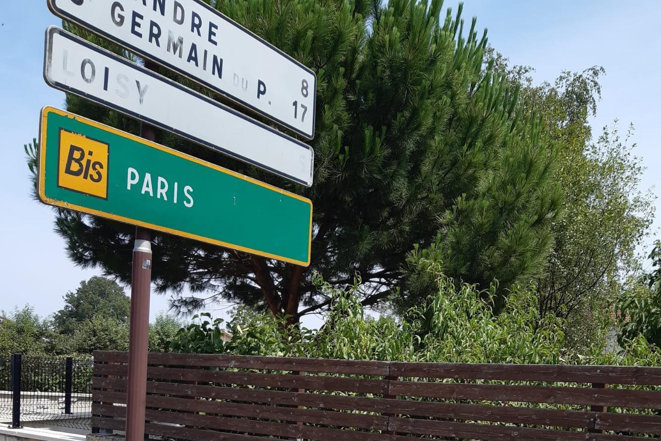 A ride for Alain (21): Daar zijn de eerste bordjes richting Parijs al