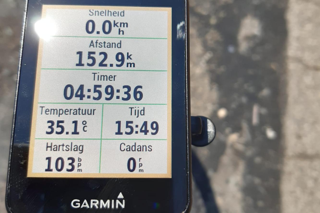 A ride for Alain (20): De pijnlijke knie verpest het goede gevoel op de fiets