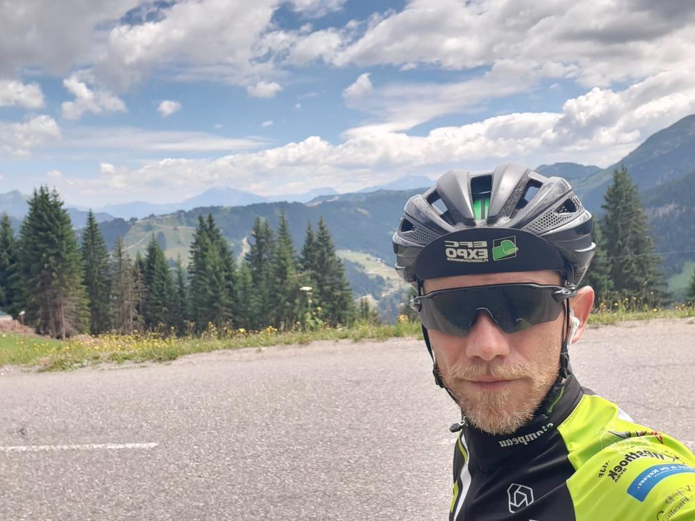 A ride for Alain (16): Met een duw in de rug van mijn pa de klimtijdrit afgewerkt
