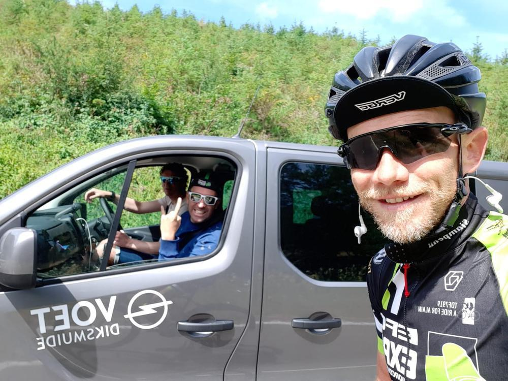 A ride for Alain (13): 2.500 hoogtemeters voor een overgangsetappe, nu vier dagen afzien in de bergen