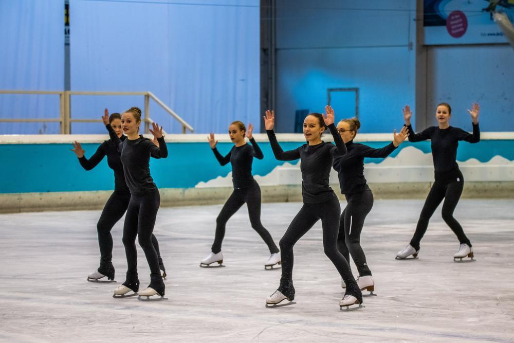Gullegemse synchroonschaatsters straks voor eigen publiek in Winter Cup
