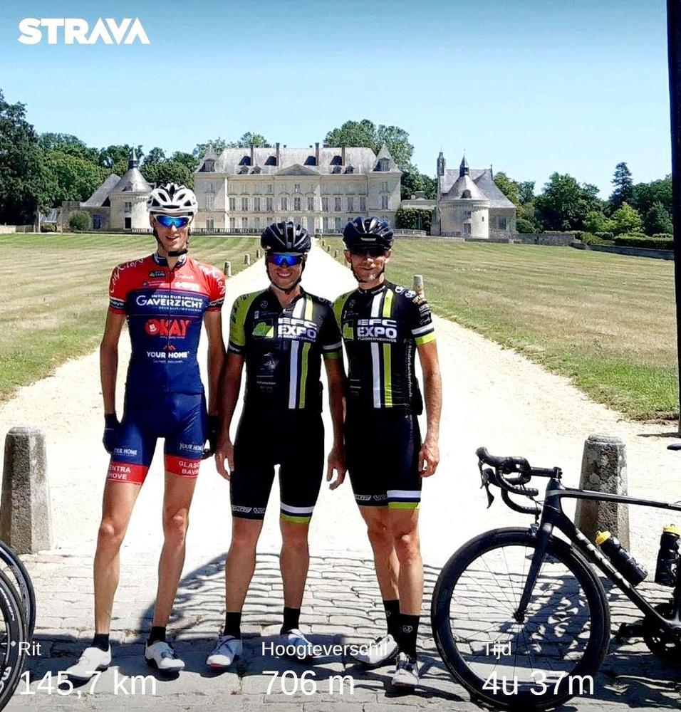A ride for Alain (6): Precies zoals vroeger, trainingsrit met de maten