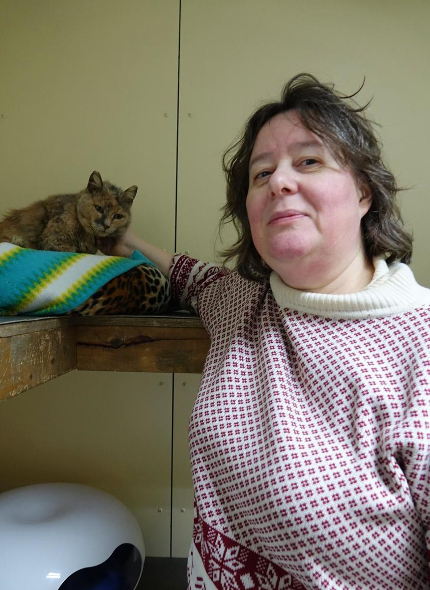 Sylvie Ossieur, verantwoordelijke van vzw dierenasiel De Knuffelpootjes in Rekkem:
