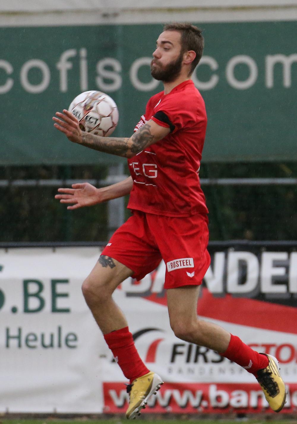 Laurenz Simoens werd verkozen tot EOTS-speler van de maand december. (Foto Bart)