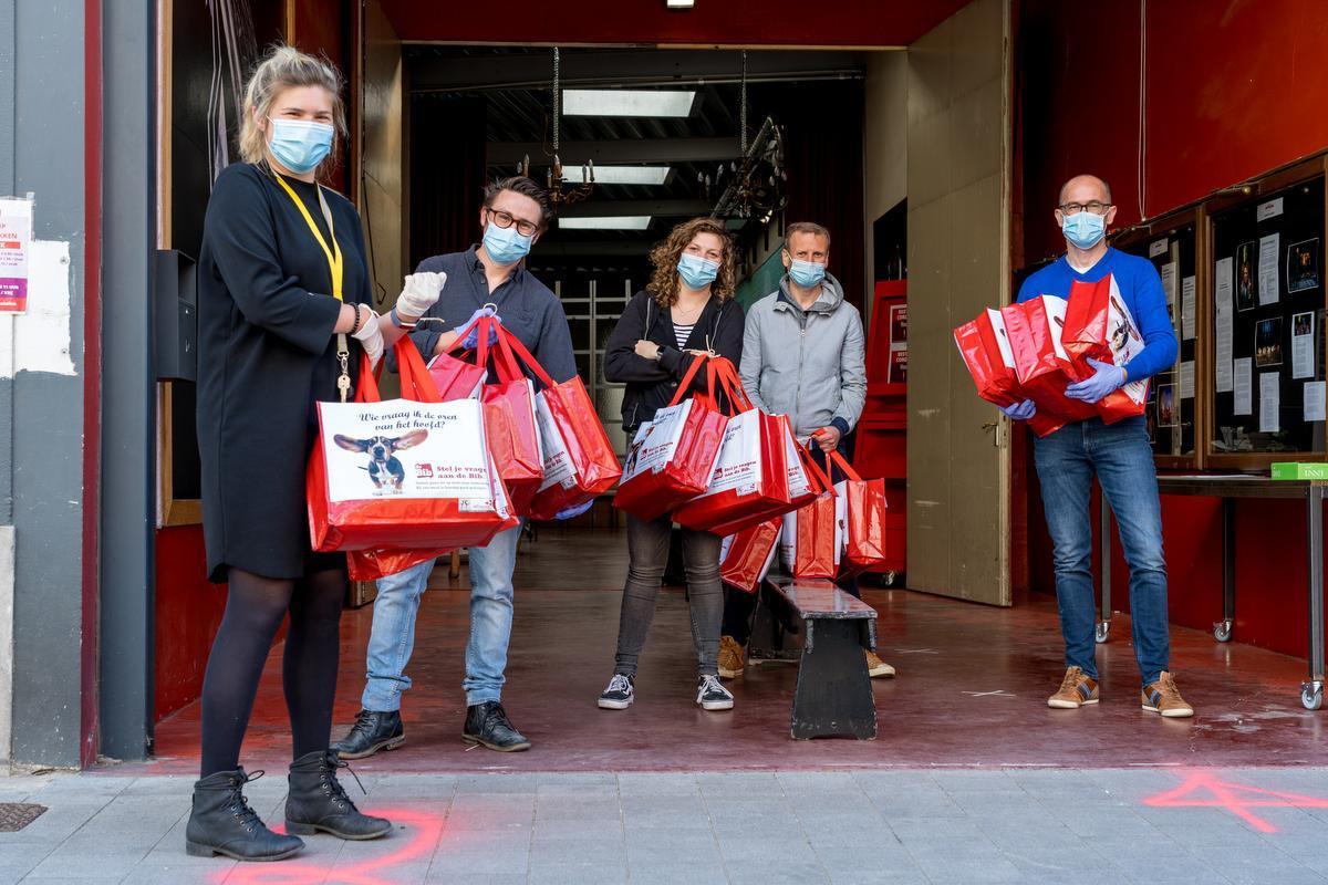 Alle mondmaskers in Kortrijk geleverd: