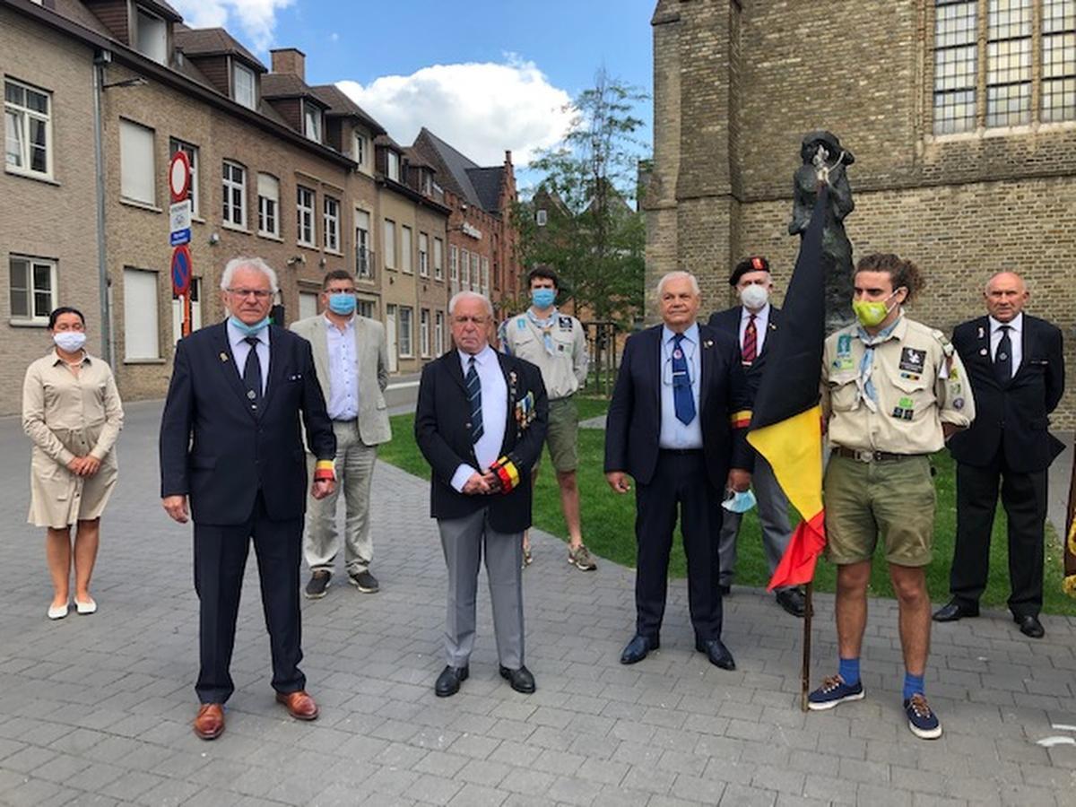 Ook in Roeselare zijn de activiteiten naar aanleiding van de nationale feestdag beperkt gebleven.