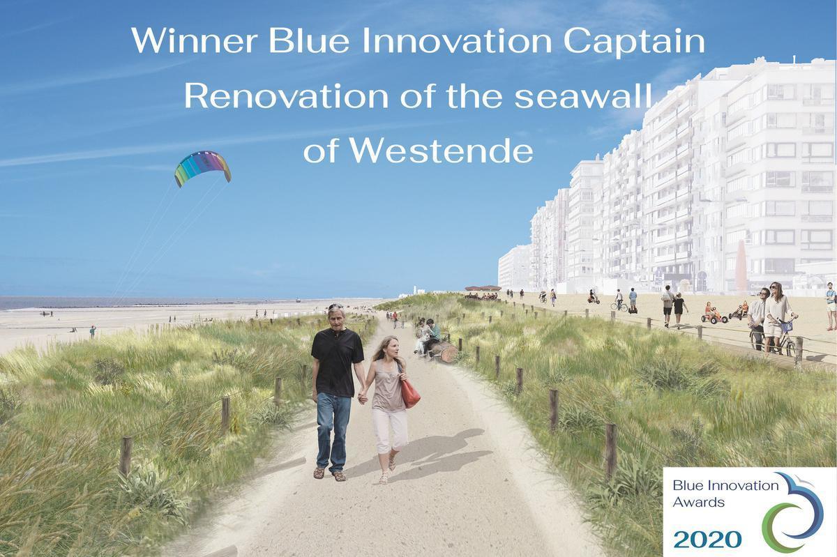 Mosselkweekproject en groene zeedijk winnaars van de Blue Innovation Awards