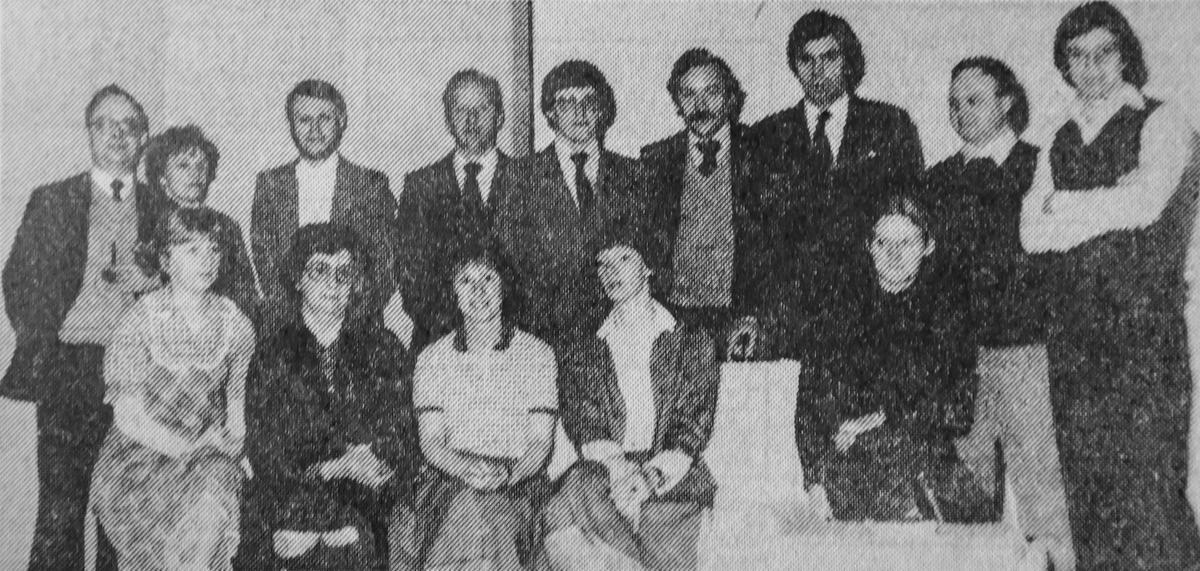 De Drye Sweerden, anno 1975. (repro Davy Coghe)
