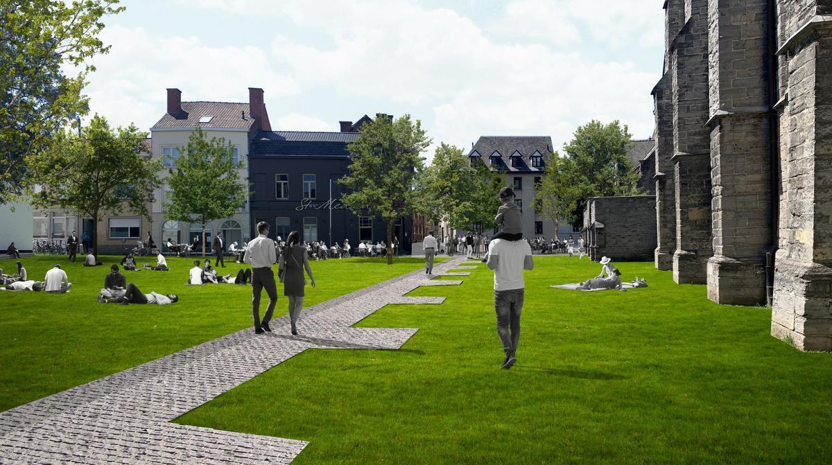 Kortrijk investeert 100 miljoen in heraanleg van historisch hart van de stad