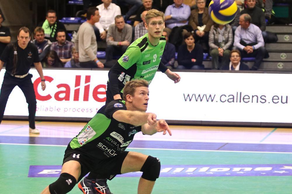Anshel Ver Eecke kon de nederlaag niet vermijden.