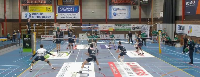Knack Volley in vier sets voorbij Achel