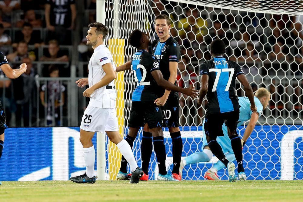 Club Brugge zet met zuinige zege in Linz grote stap richting Champions League