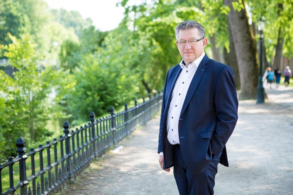 Burgemeester Dirk De fauw.