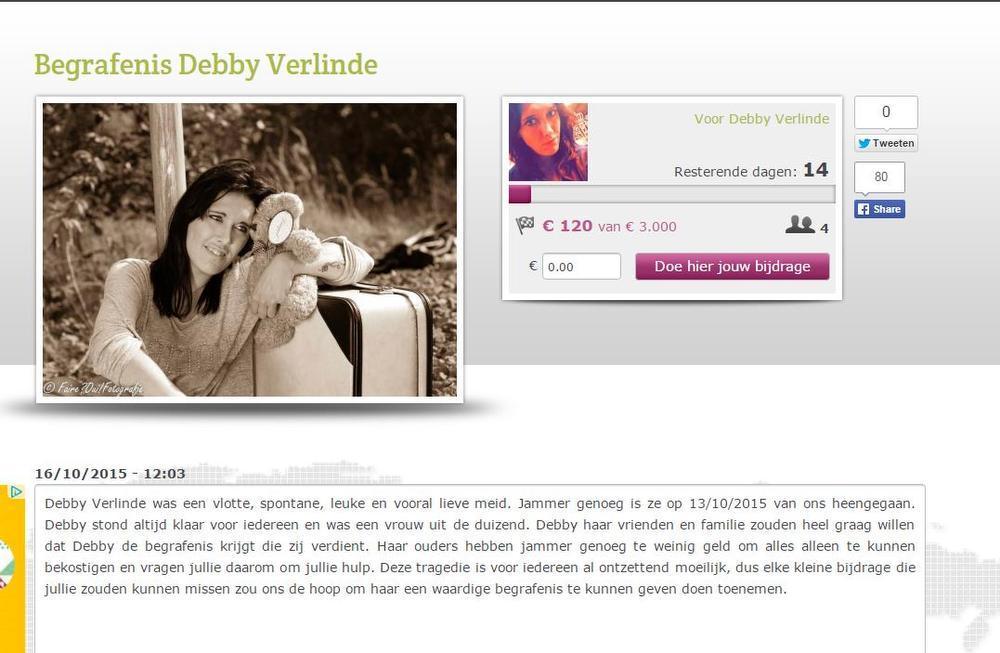 Oostendse sterft in hotelkamer, vrienden hopen haar via crowdfunding waardige begrafenis te geven