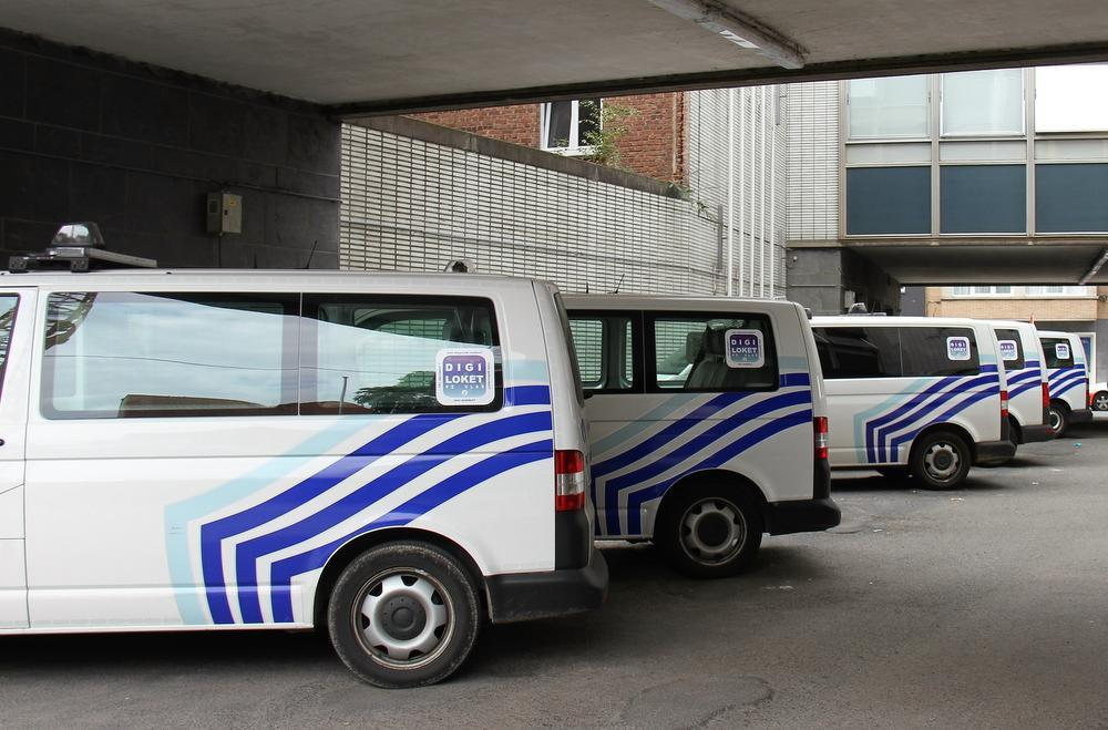 Het commissariaat in de Oude-Vestingsstraat is de voormalige thuisbasis van de Kortrijkse politie.