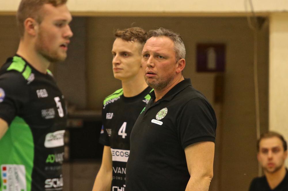 Coach Depestele zag zijn team weer wisselvallig acteren.