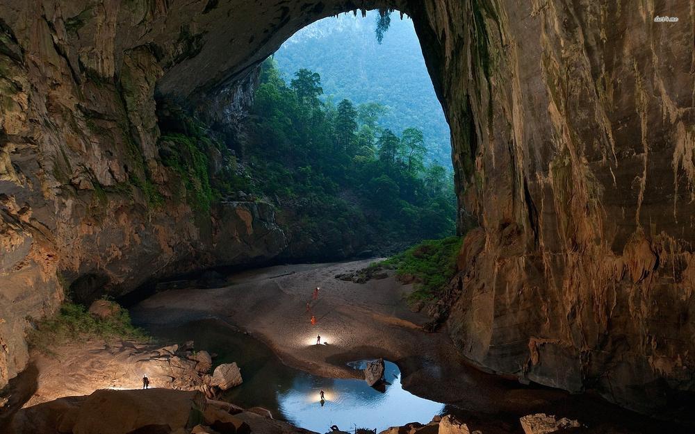 De Son Doong-grot is ronduit indrukwekkend.