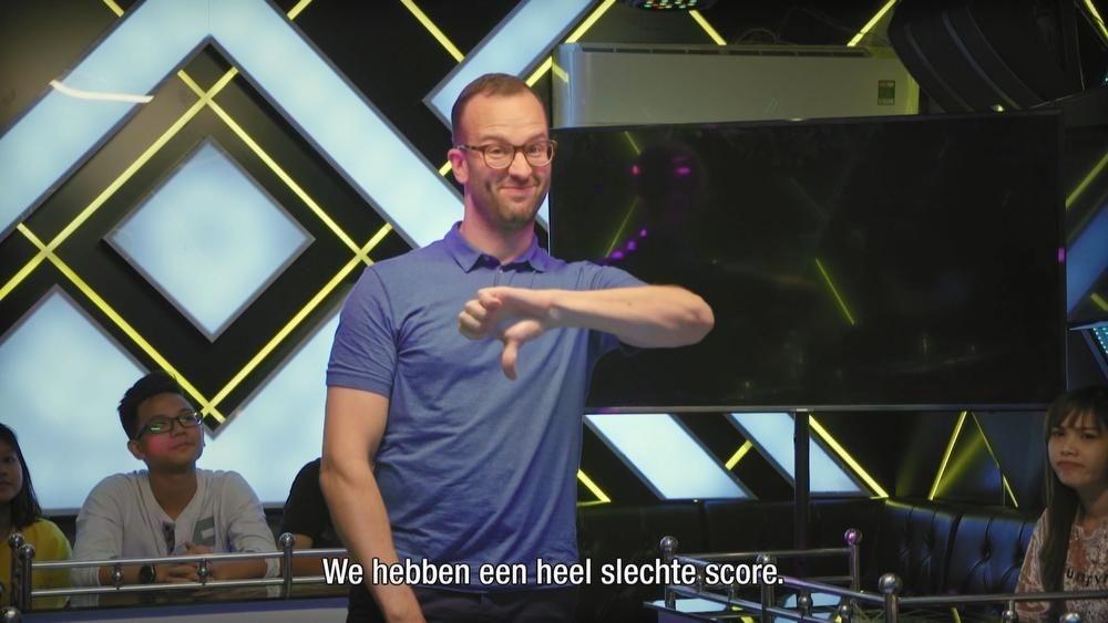 VIDEO - West-Vlaming Bas verliest gracieus in De Mol: