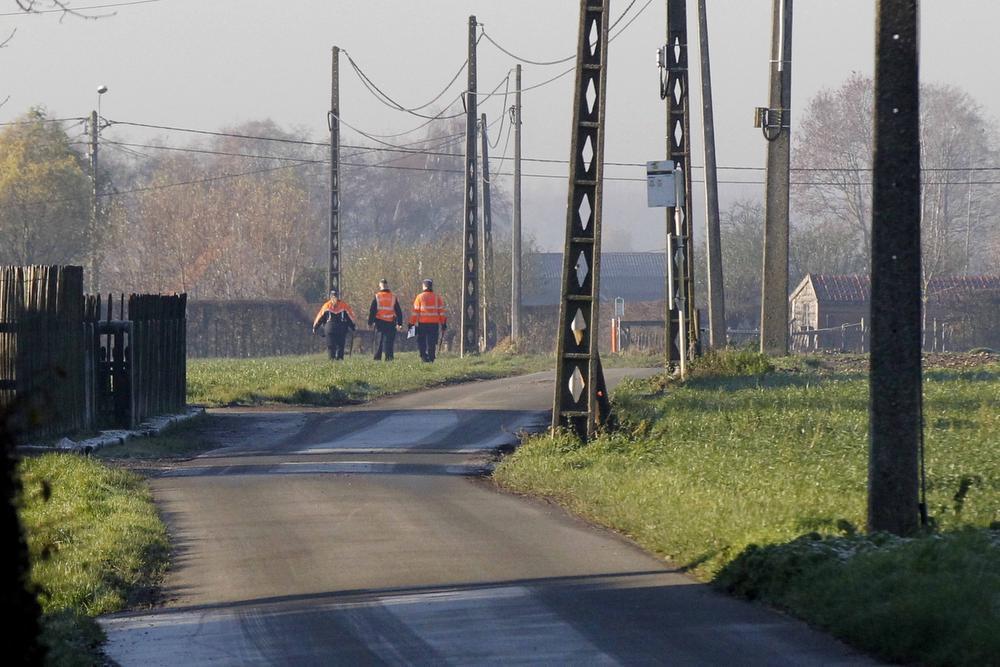 In de omgeving van de woonplaats van de man werden de velden doorzocht.