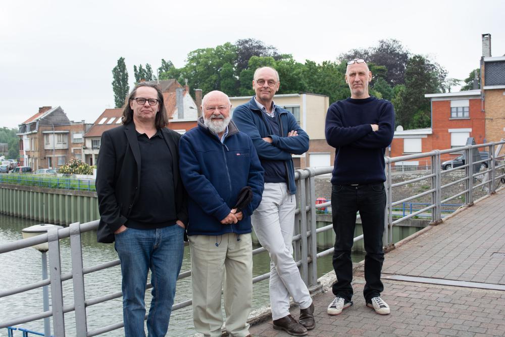 De Leiewerken vormen een unieke gelegenheid om de vestingen terug te geven aan Menen. Dat vinden alvast Marc Pyncket, Willy Spillebeen, Frank Van Raes en Nicolas Van Elslander. De maquette wordt onthuld op zondag 27 mei.