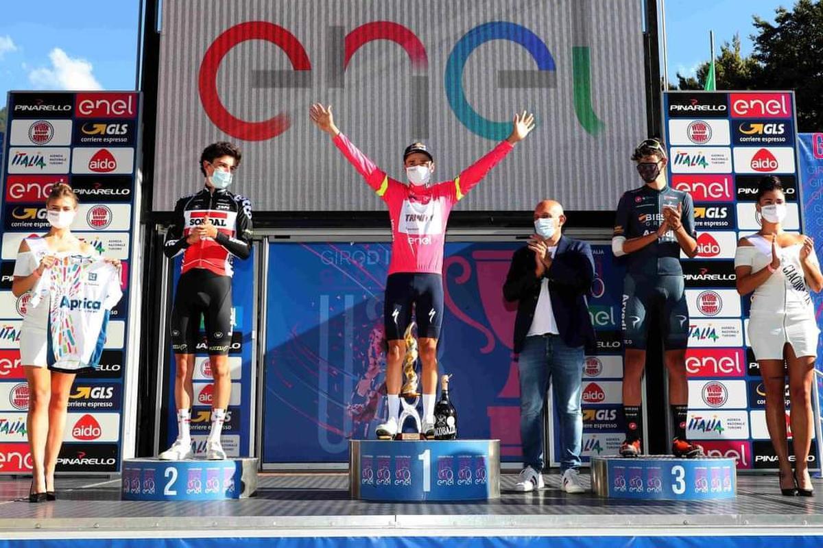 Henri Vandenabeele tweede in Baby Giro: