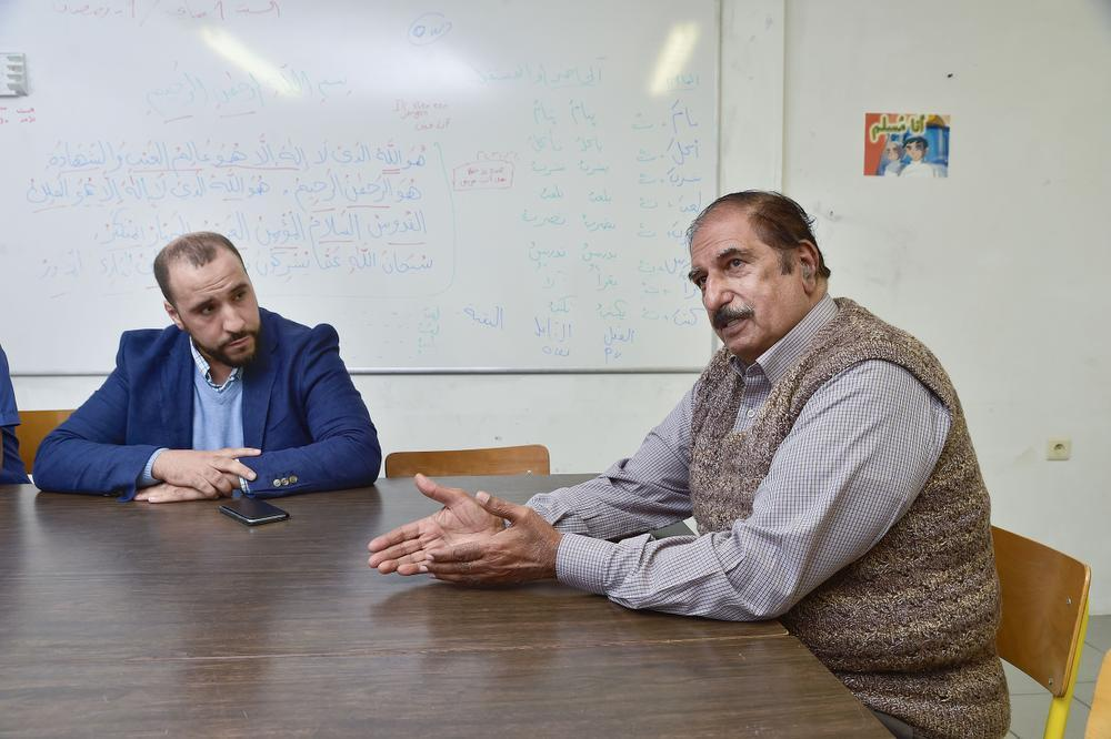 Brahim Bouzarif en Ali Aftab.