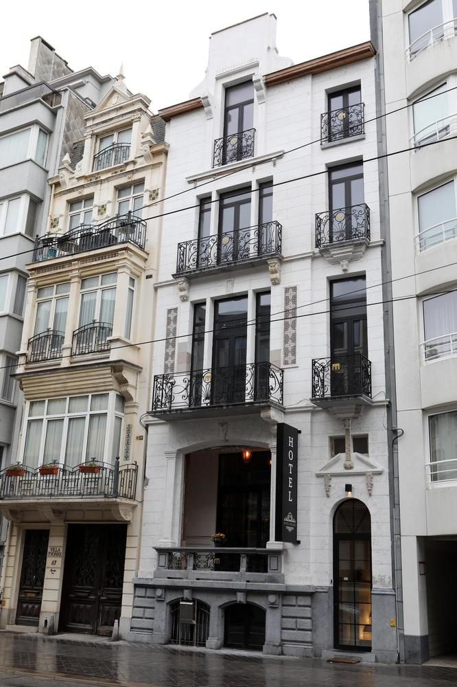 Dit oude herenhuis in de Koningstraat is nu hotel Monarc.