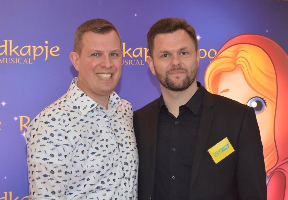 Frederik Naert (rechts), samen met zijn partner Olivier De Meyer.