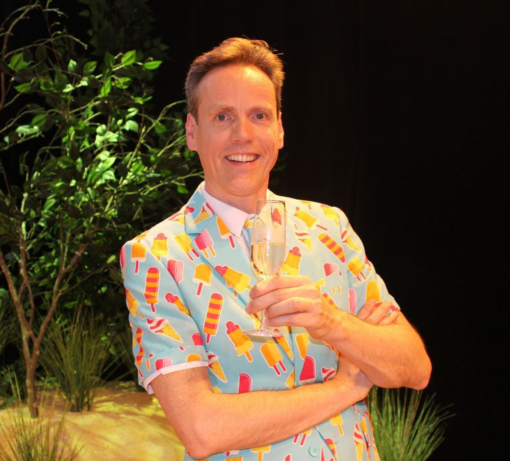 Regisseur Jeroen Maes.