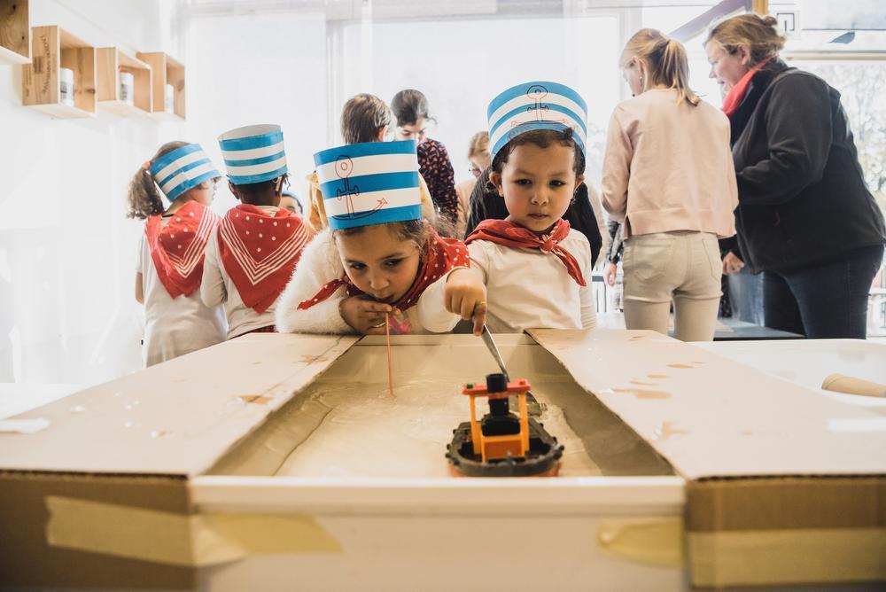 Vrije Scholen Kuurne openen bijzondere Steamboot: