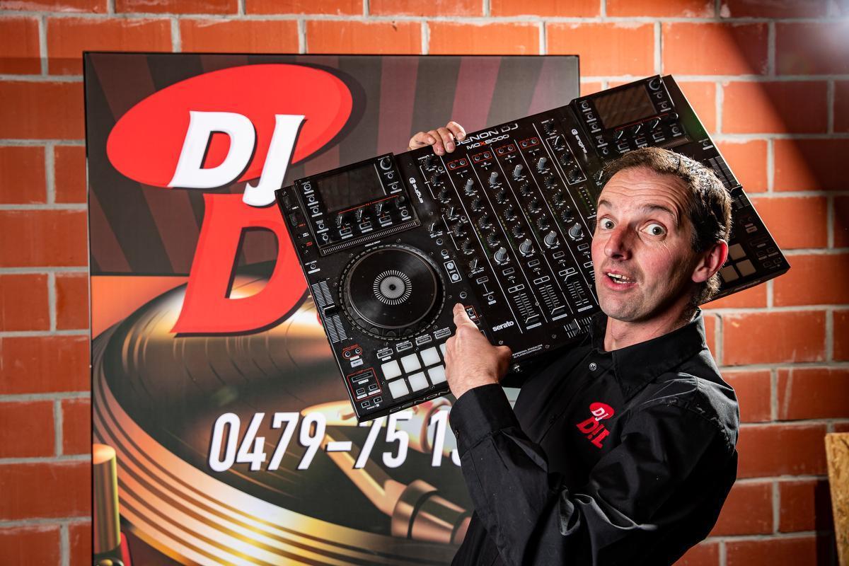 Didier Deman, aka DJ D!Di.