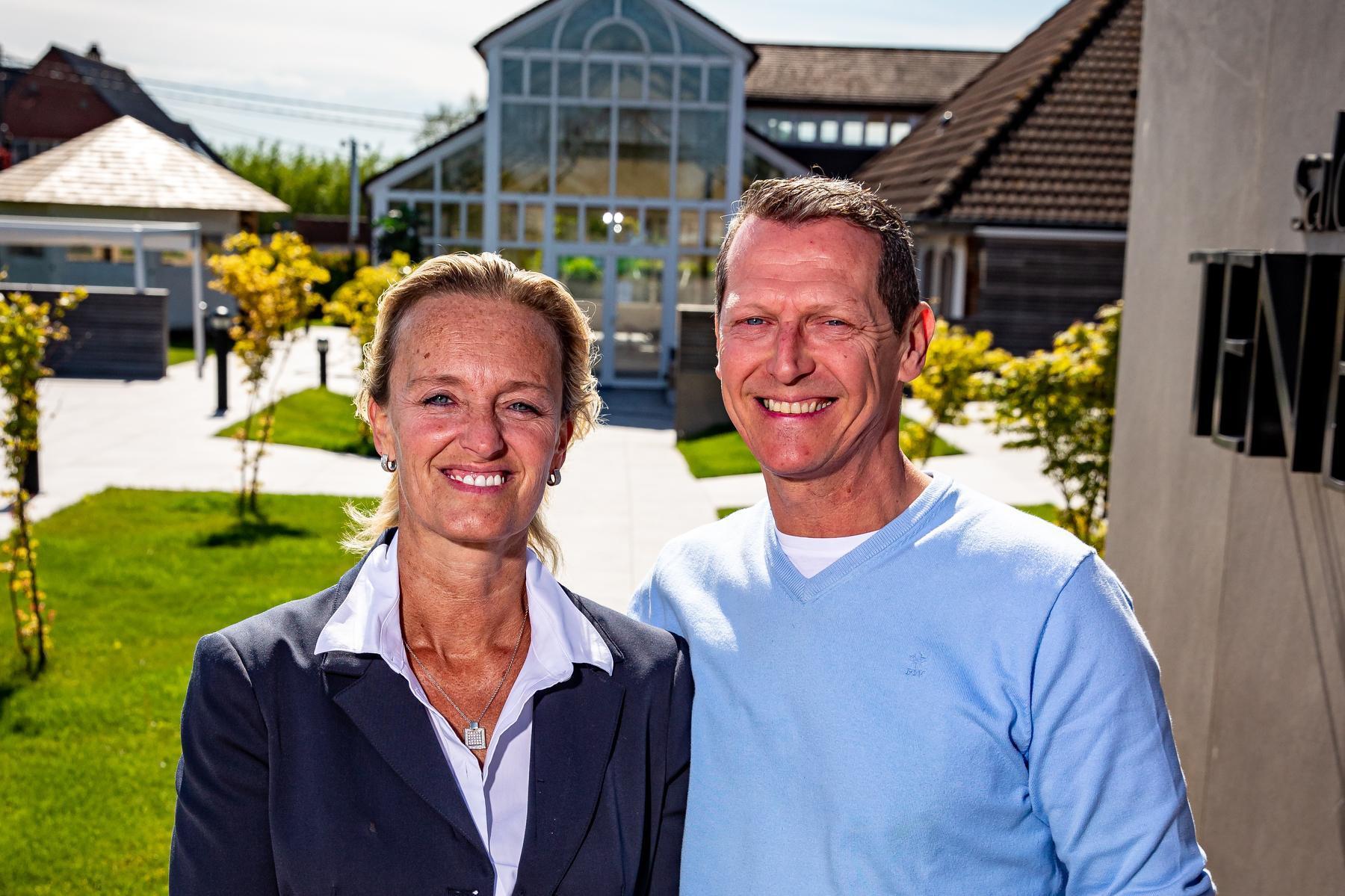 Isabel Joseph en Didier Deylgat.