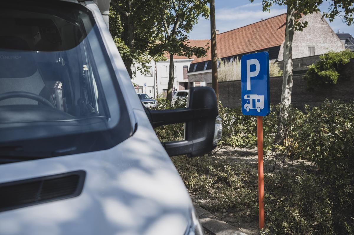 Campers zijn voortaan welkom op parking Damier in Kuurne